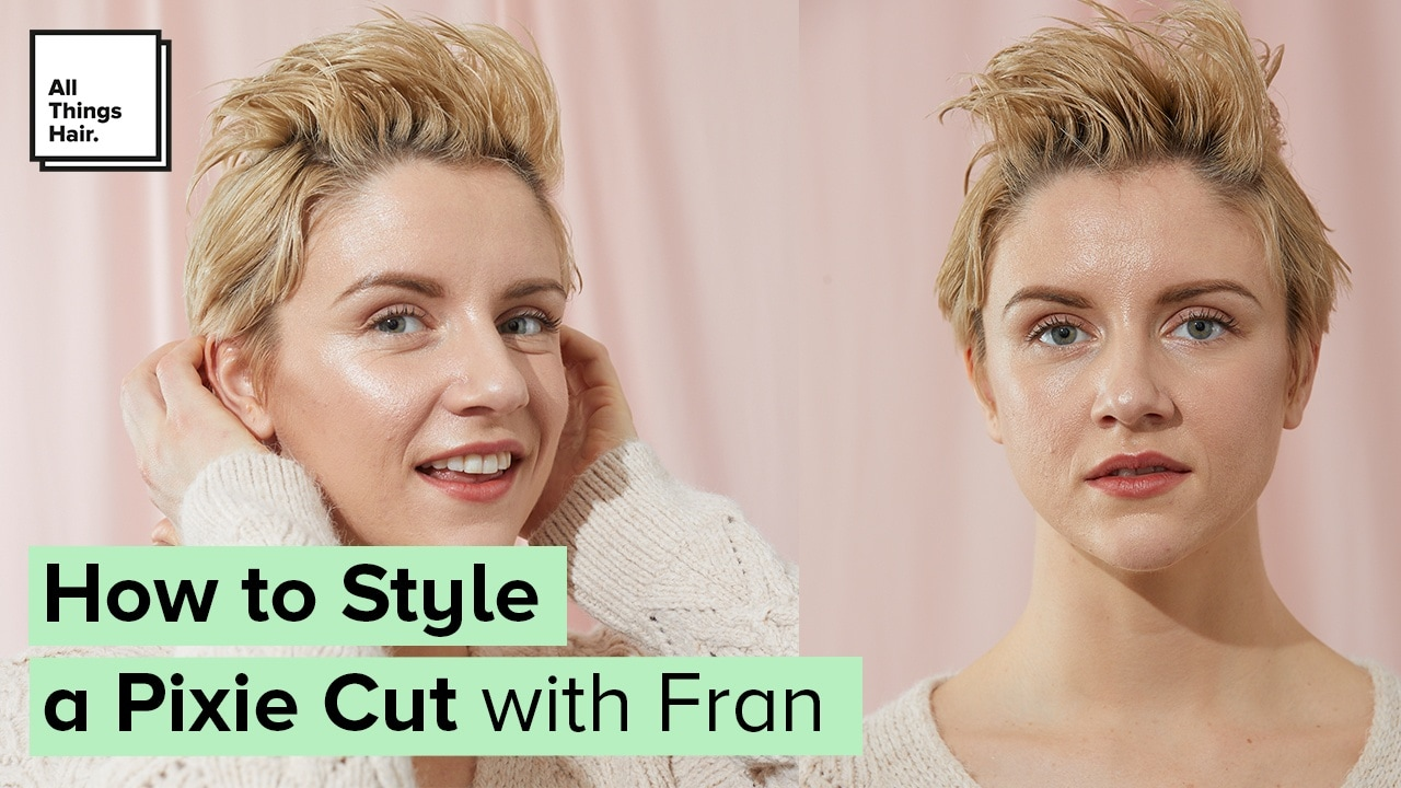 Video How To Style A Pixie Cut