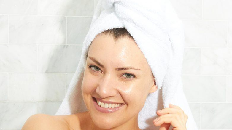 how often should you wash your hair towel brown hair
