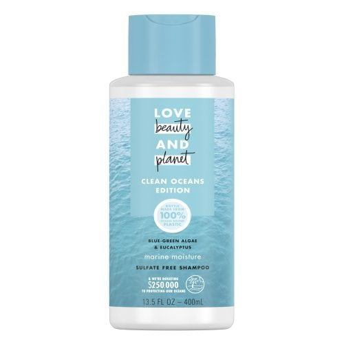 love beauty and planet blue green shampoo