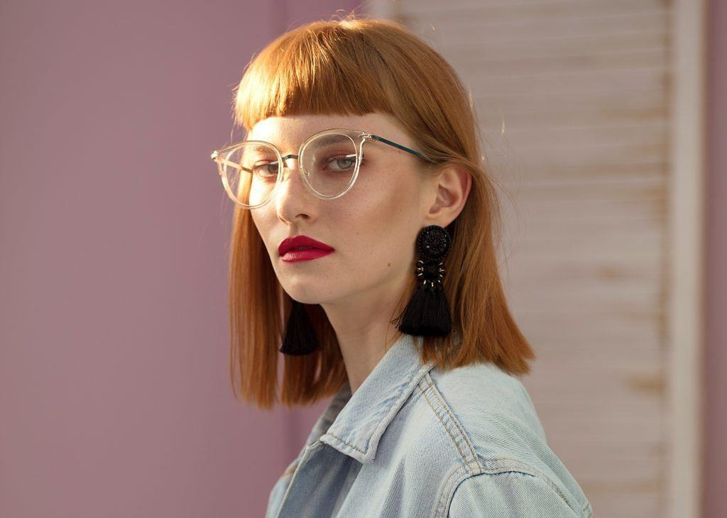 Bangs With Glasses Looks To Try For 2020 All Things Hair Us