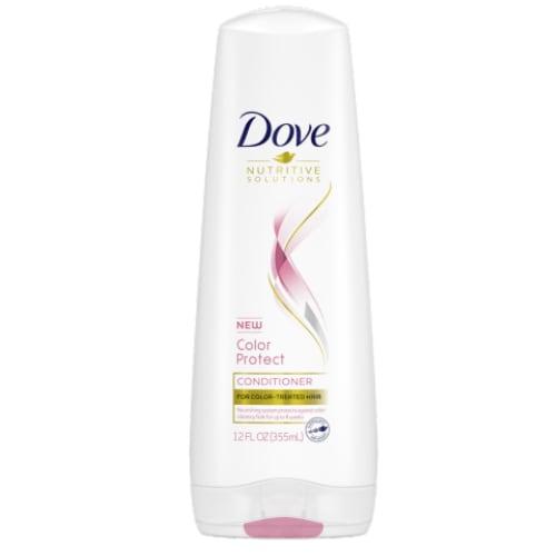dove color care conditioner FOP