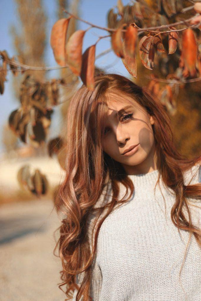 red hair trends auburn