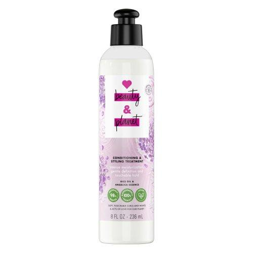 Love Beauty and Planet Rice Oil & Angelica Essence Curls and Waves Conditioning and Styling Treatment