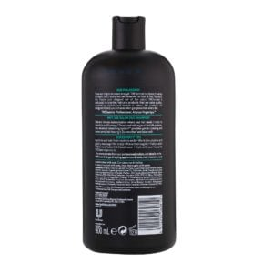 SS salon silk shampoo rear view