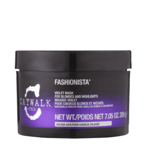 catwalk violet mask for blondes and highlights front view
