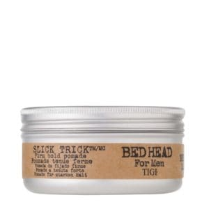 bed head for men slick thik firm hold pomade front view