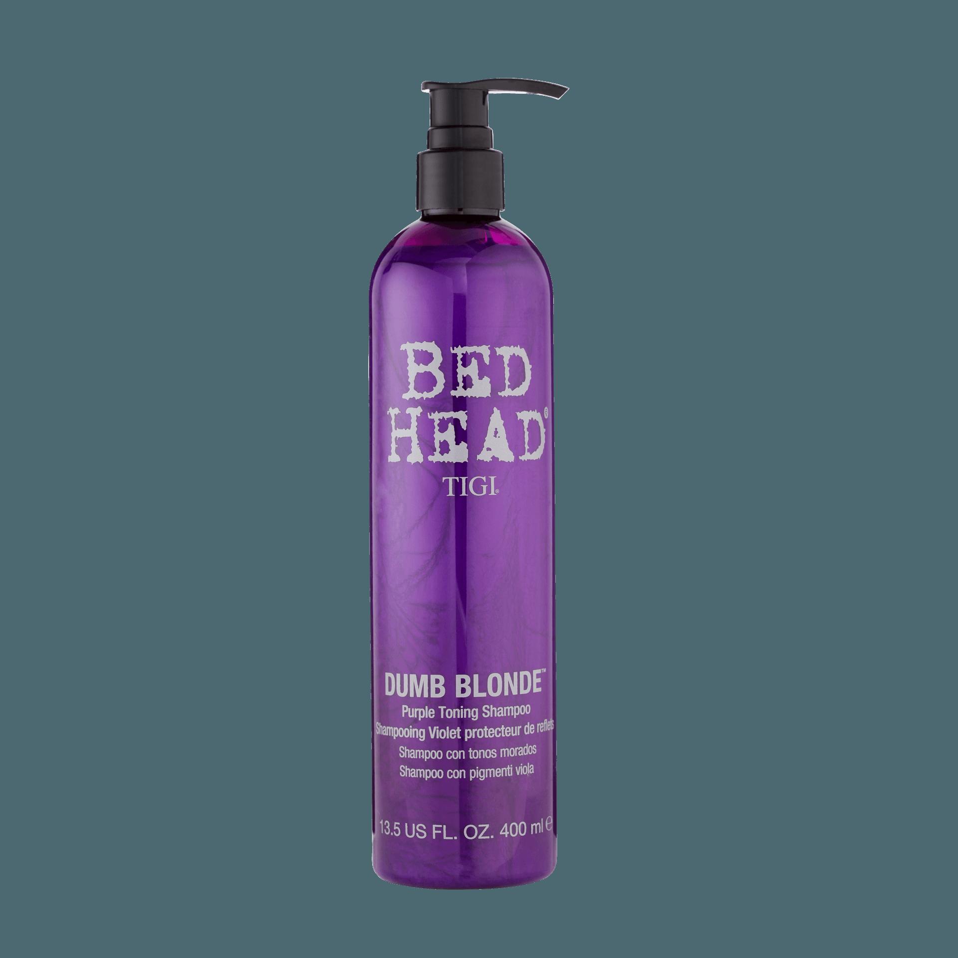 TIGI Bed Head Dumb Blonde Purple Toning Shampoo