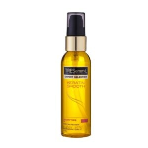 tresemme keratin smooth beautifying oil front view