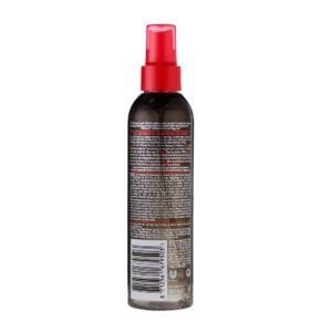 tresemme PUD Sea salt hairspray rear view