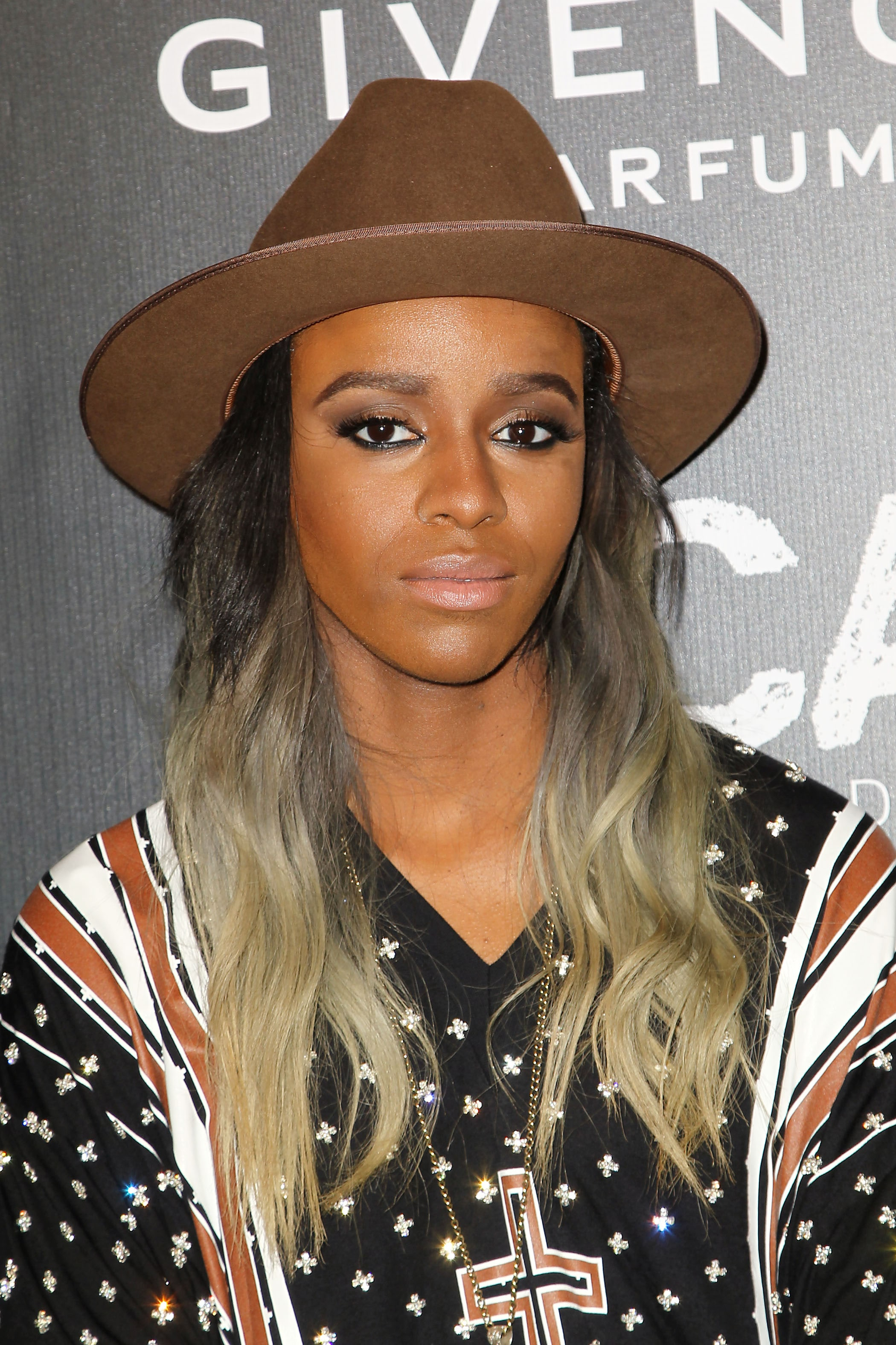 angel haze long ombre multi coloured hair
