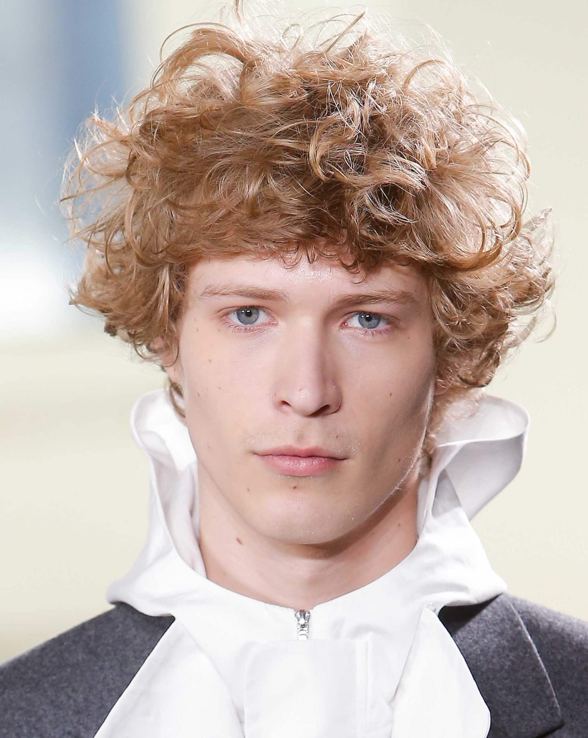 Curly hair men- our fave styles & how to work them for your face ...