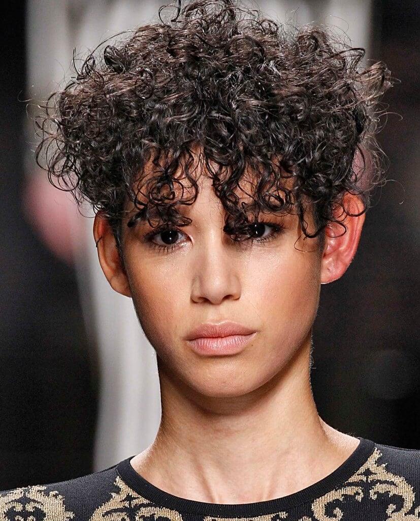 lob haircut short curly hairstyles