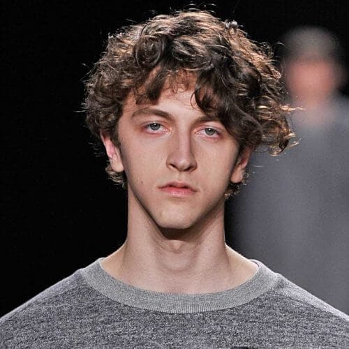 Curly Hair Men Our Fave Styles How To Work Them For Your Face Shape