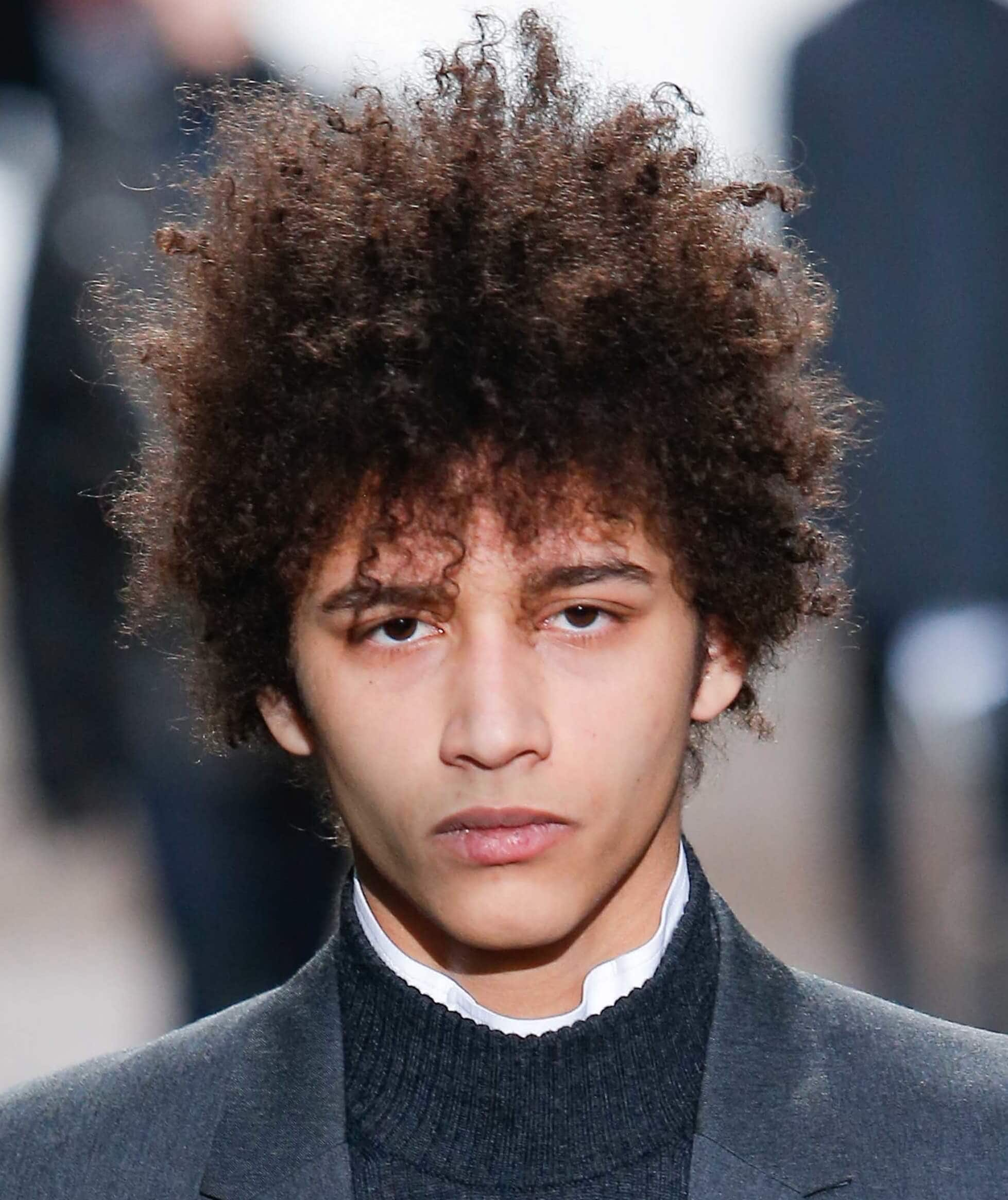 Curly Hair Men Our Fave Styles How To Work Them For Your