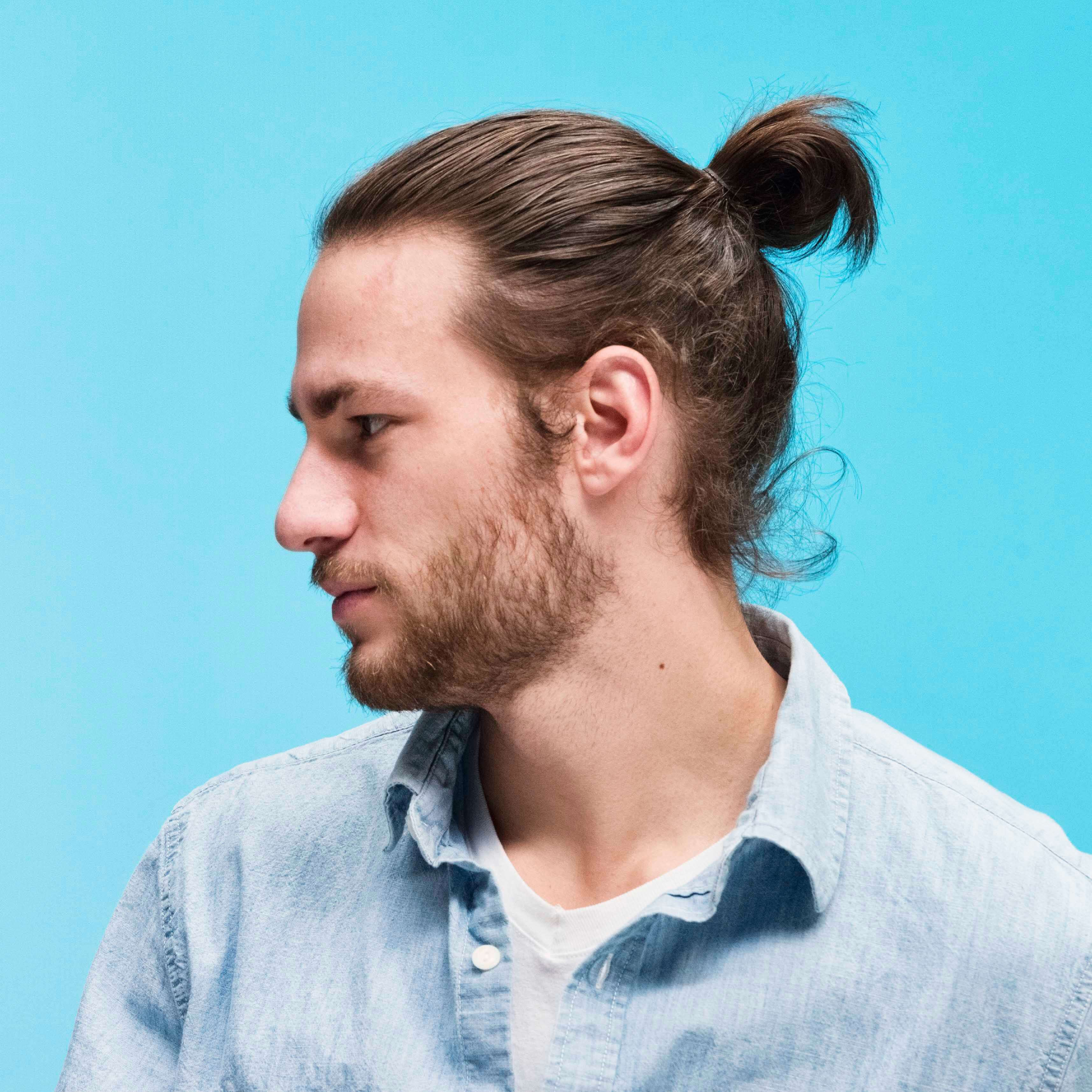 How To Grow A Man Bun In 6 Steps Men S Hairstyle Guide