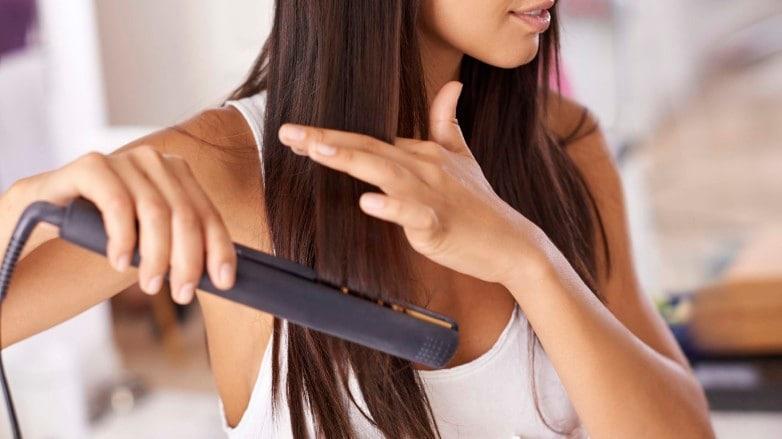 straightening hair advice