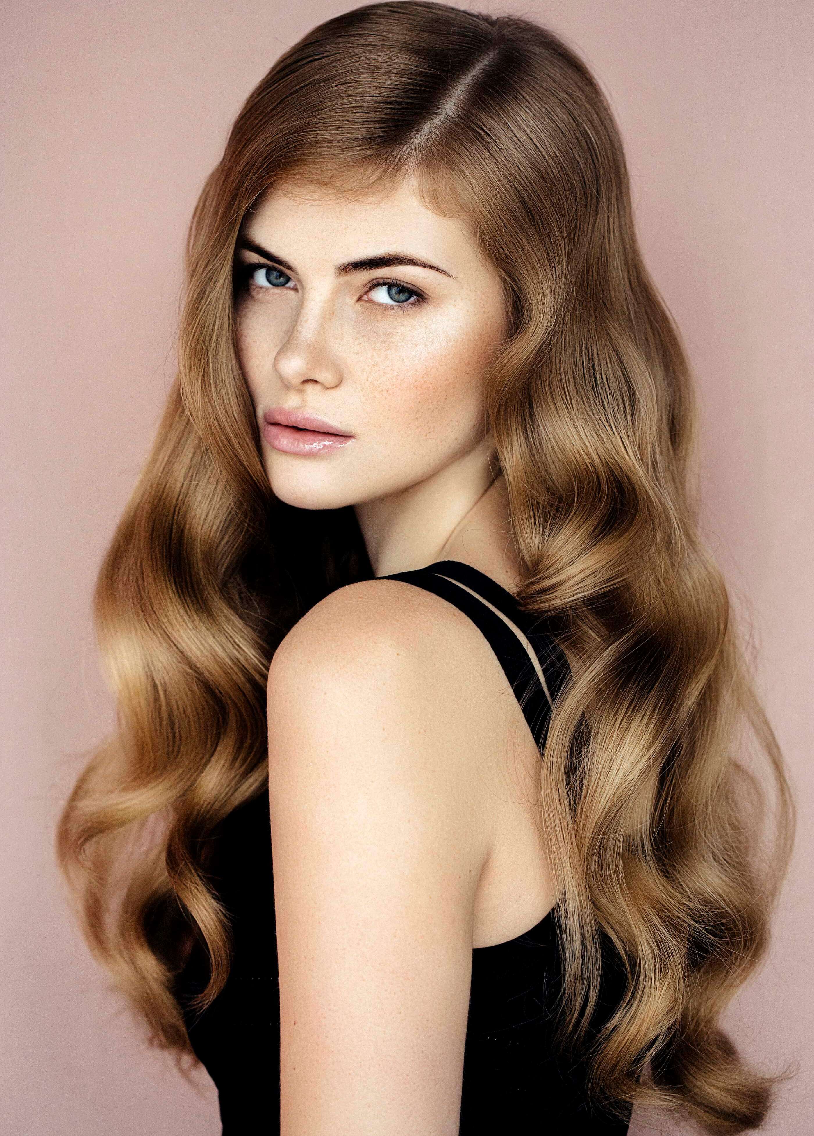 medium loose curls haircuts for curly hair