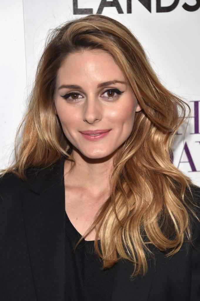 front view of Olivia Palermo with dark blonde hair