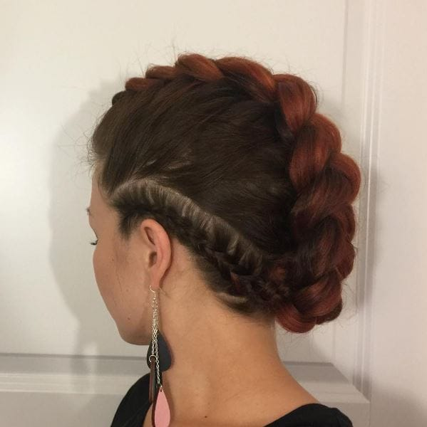 Fun hairstyles: All Things Hair - IMAGE - Bradied mohawk