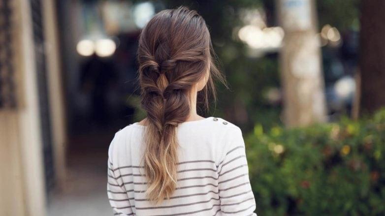 triple topsy turvy ponytail