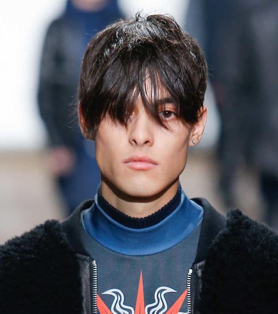 best men's hairstyles Asian mens swoop hair