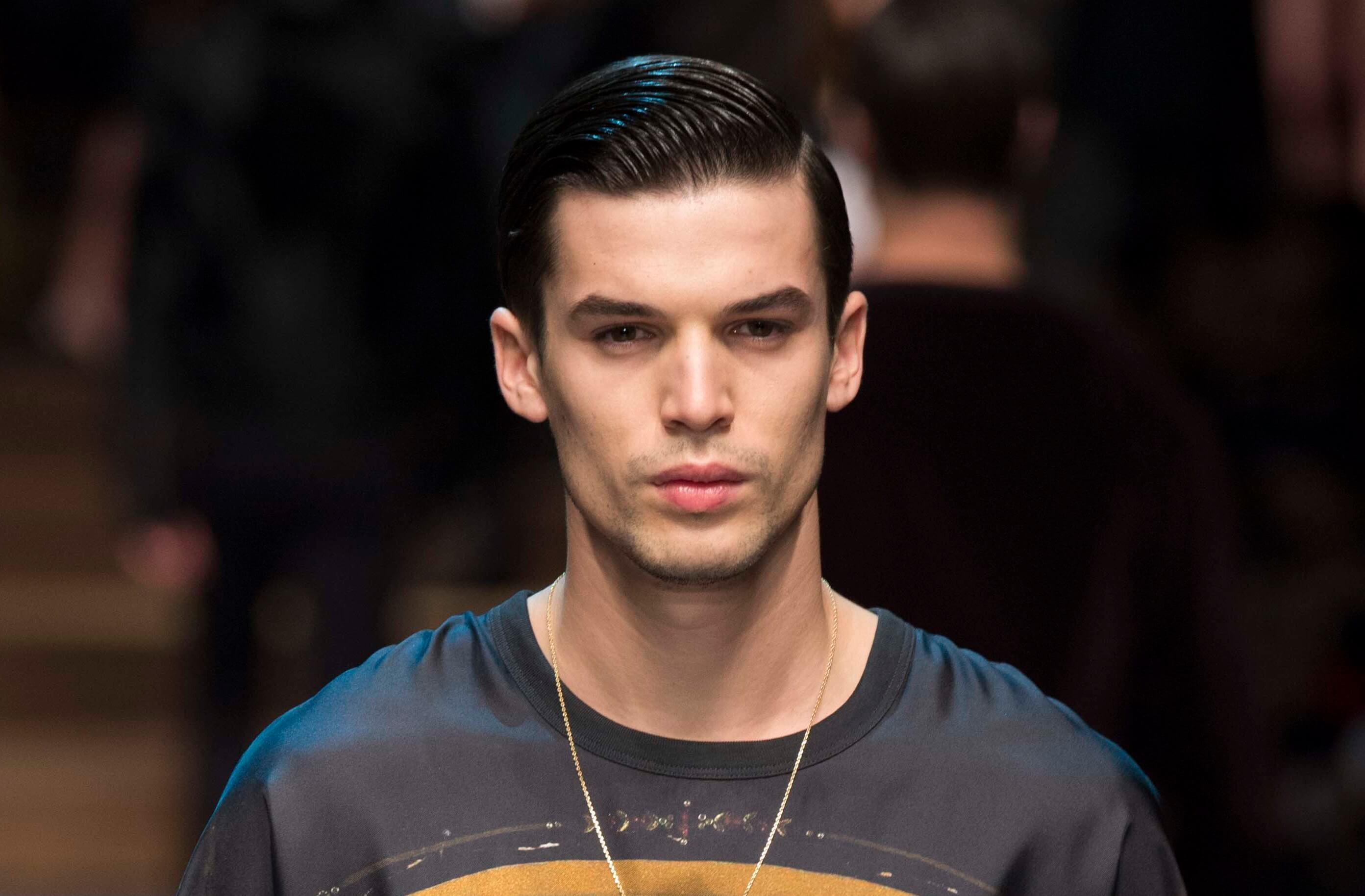 slick comb over cut modern hairstyles for men