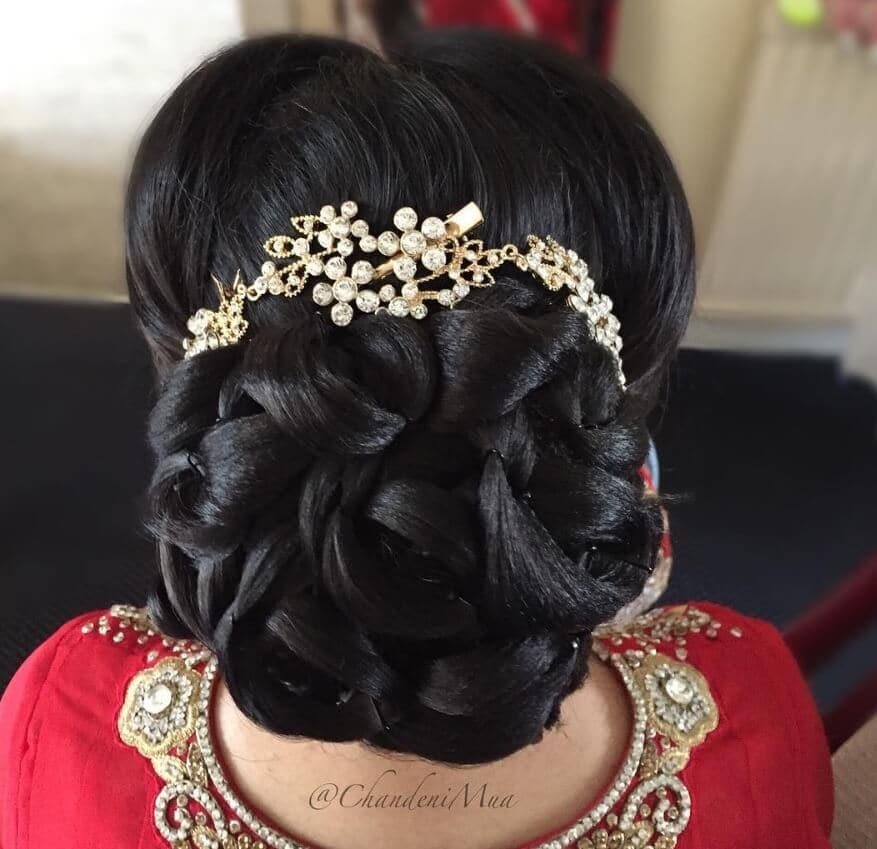 Asian Hair Style Wedding