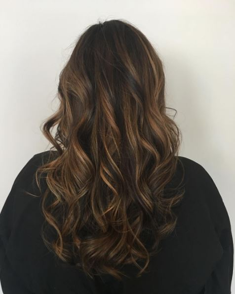 Hair colour ideas for brunettes: : All Things Hair - IMAGE - rich caramel tone