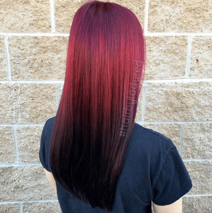Reverse ombre: 7 Looks on Instagram that will convince you