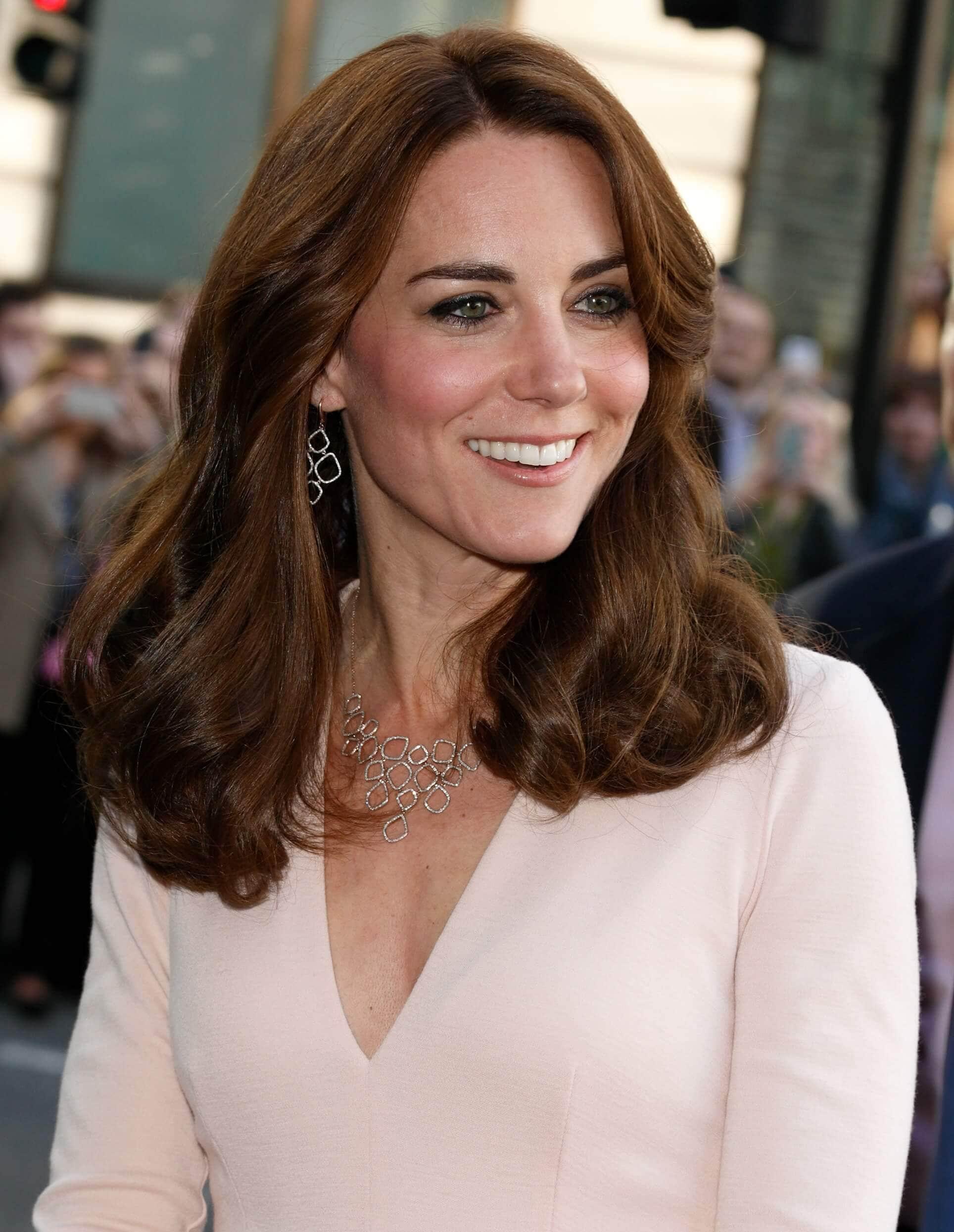 brunette hair Kate Middleton