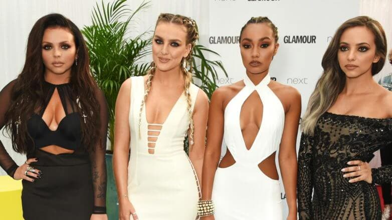 Little Mix glamour women of the year awards hair 2016
