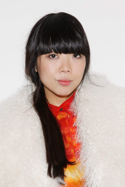 Susie Lau blogger brown hair