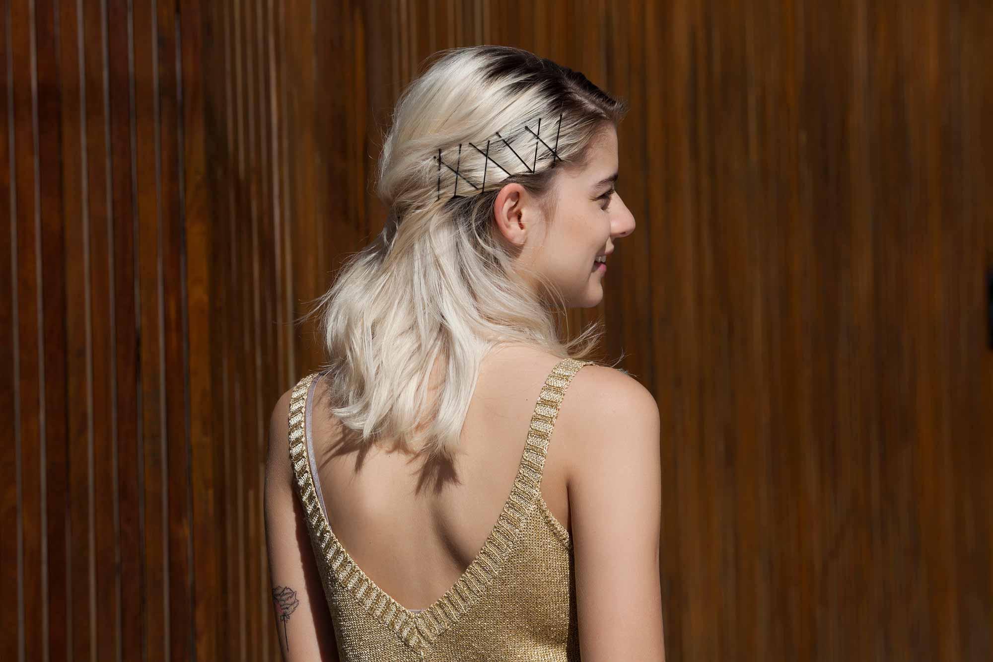 Kristen Stewart hair pins inspiration