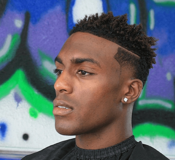 Mohawk hairstyles for men: Subtle south of France mohawk from Instagram