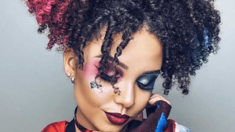 12 Black Harley Quinn Hairstyles For Halloween 2019
