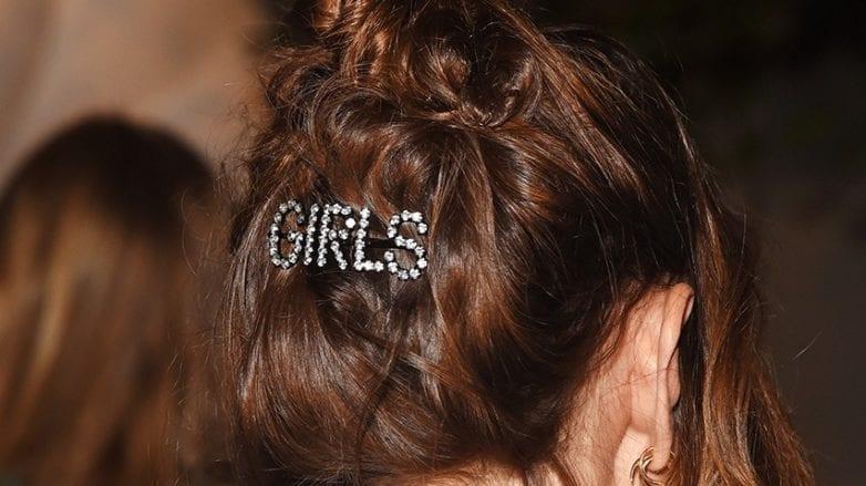Alexa Chung hair accessory