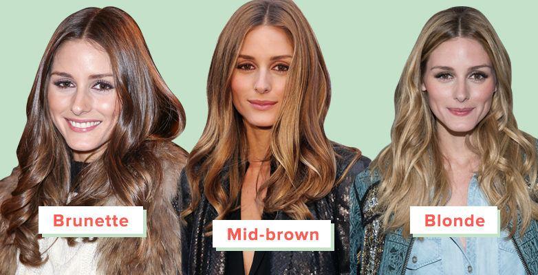 brunette to blonde hair Olivia Palermo