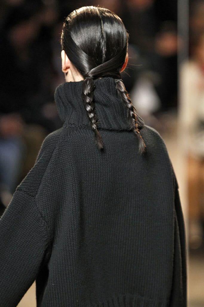 pigtails with twist