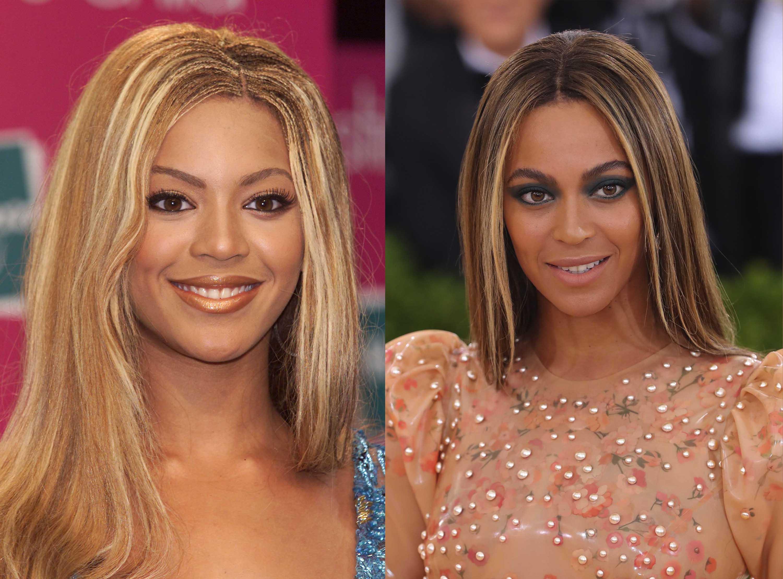 black celebrity hair: All Things Hair - IMAGE - Beyoncé hair highlights Black History Month