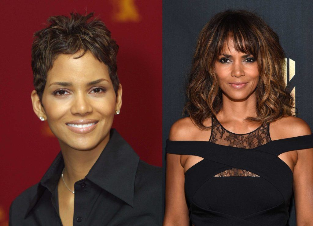 Black celebrity hair: All Things Hair - IMAGE - Halle Berry hair Black History Month
