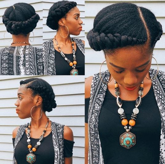 Professional hairstyles: All Things Hair - IMAGE - braided updo