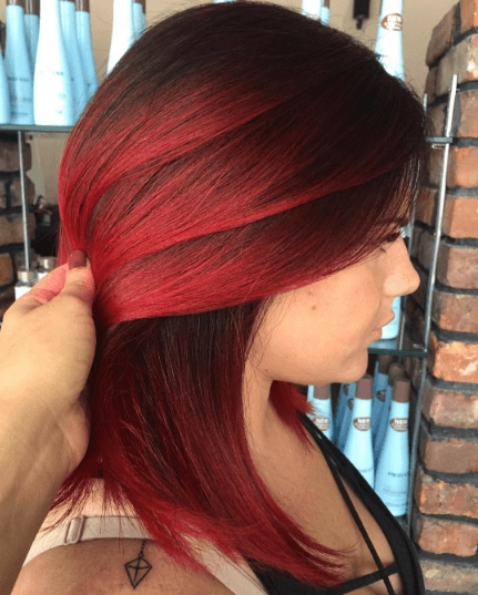 10 Best Red Balayage Hair Colours For 2019