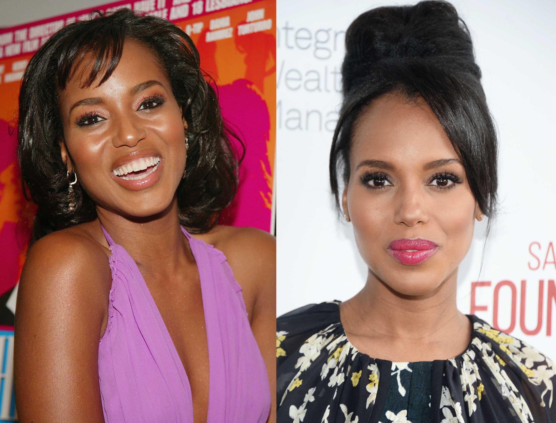 Black celebrity hair: All Things Hair - IMAGE - Kerry Washington hair updo Black History Month