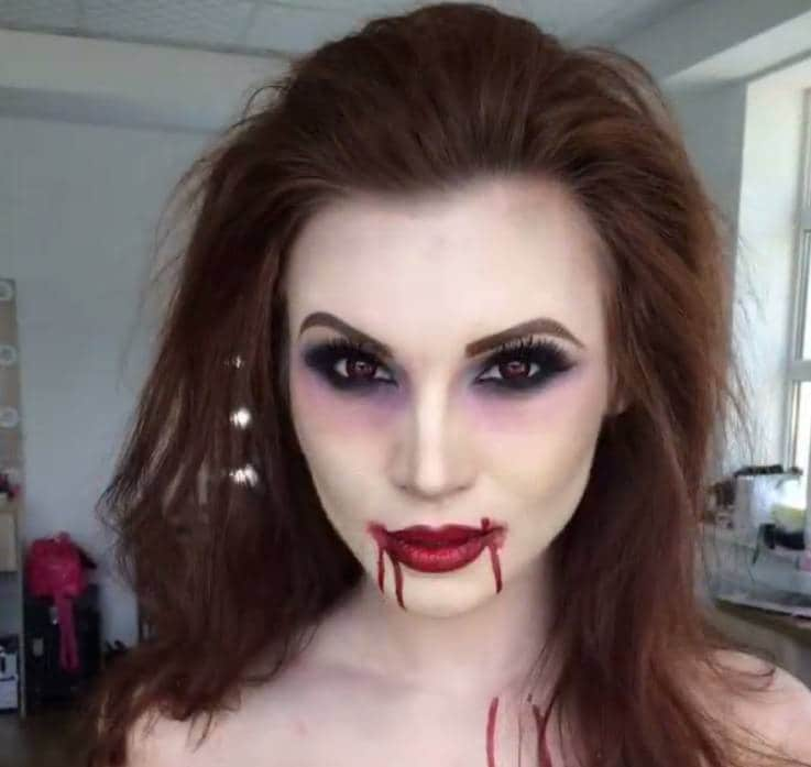 Vampire hairstyles: All Things Hair - IMAGE - brown hair Halloween 2016 hair ideas