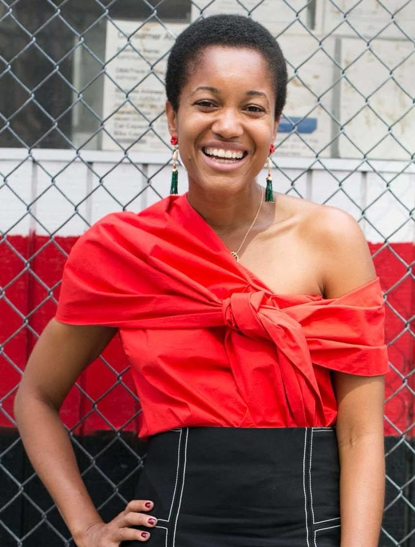 Short cuts: Young black woman keeping it simple with a TWA