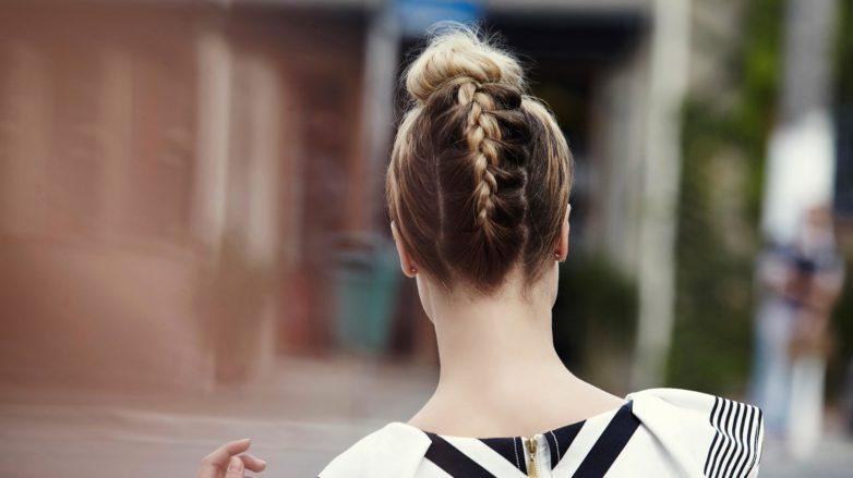 Christmas party hair updo: All Things Hair - IMAGE - upside down braided top knot tutorial how to blonde hair