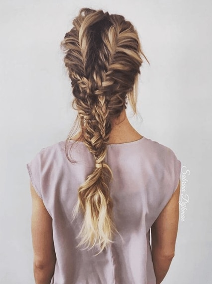 18 Fabulous Fishtail Hairstyle Ideas