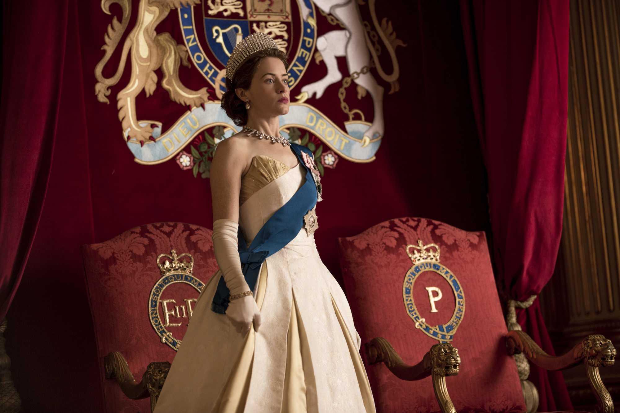 Stills of 'Queen Elizabeth' in season two of Netflix's The Crown
