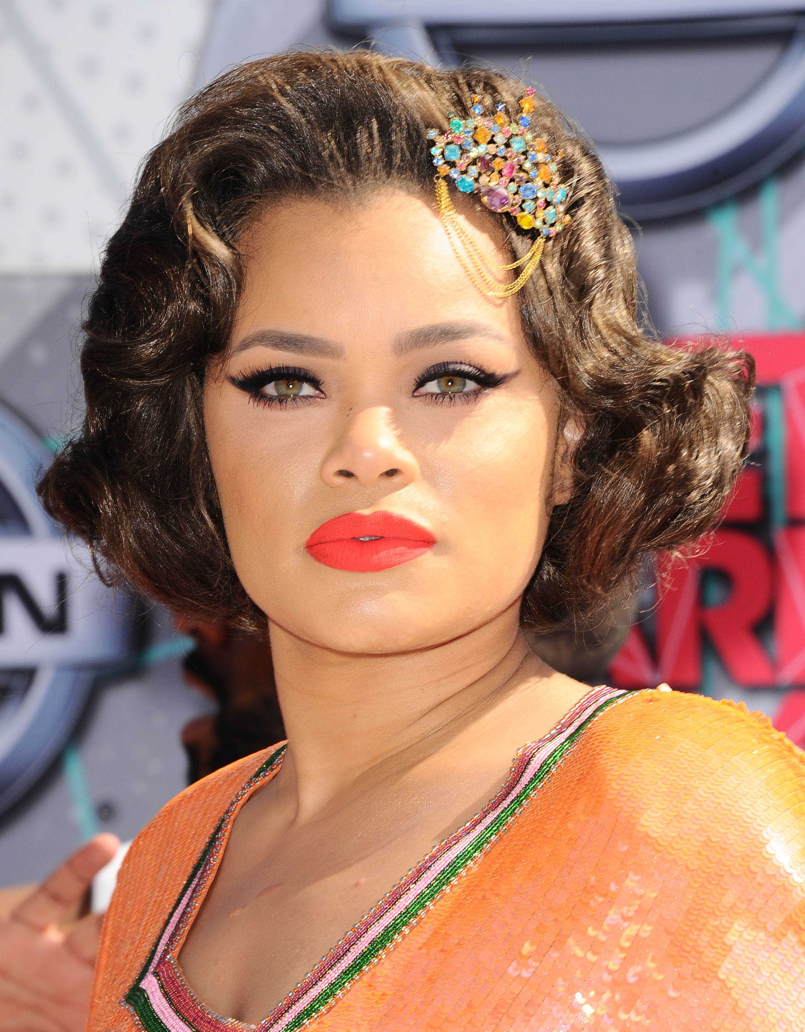 hair accessories 2016: All Things Hair - IMAGE - celebrity hairstyles Andra Day wavy bob