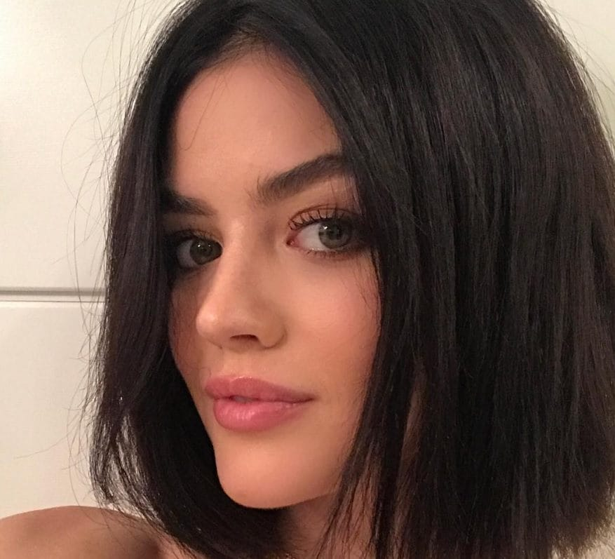 Lucy Hale Flaunts New Black Hair Style On Instagram And Slays